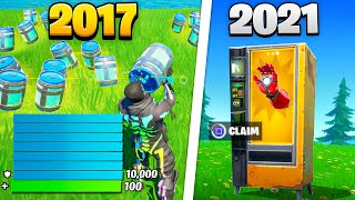 History of *ALL* Fortnite Glitches - Seasons 1 - 16! (NEVER SEEN BEFORE GLITCHES)