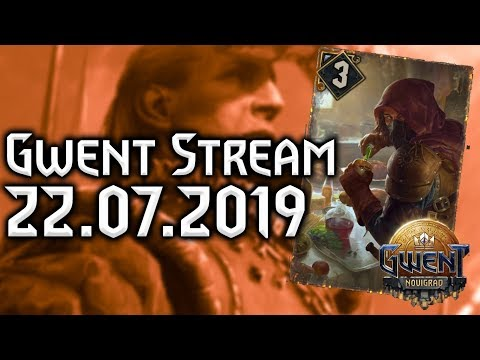 GWENT STREAM #12 | Poison Spies - Join us
