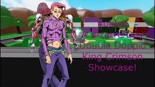 Roblox A Bizarre Day Double Doppio King Crimson Showcase!