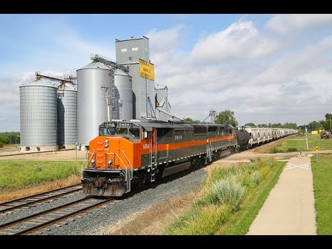 Railfanning Dakota Missouri Valley & Western