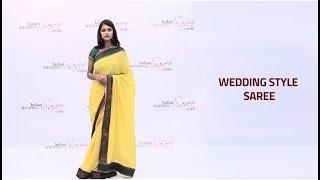 How to Wear Wedding Style Saree | Wedding Style Saree Draping Tutorial