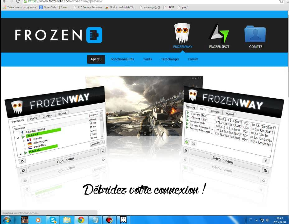 frozenway vpn gratuit