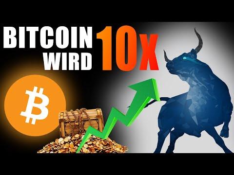 Bitcoin WIRD Um 10x EXPLODIEREN (Werde REICH Mit BTC Auf 500.000 $)