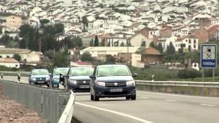 Test drive internațional cu noile modele dacia - logan, sandero, sandero stepway