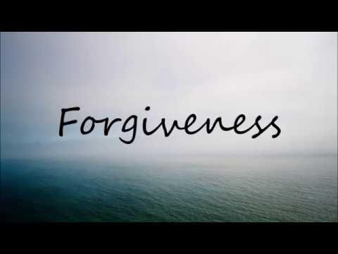 Forgiveness by Matthew West (with lyrics)