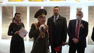Помним и гордимся! В Партизанском районе столицы на площади Победы чествовали ветеранов ВОВ
