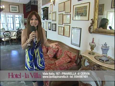 Hotel cervia pinarella hotel la villa pinarella youtube - Bagno la villa pinarella ...