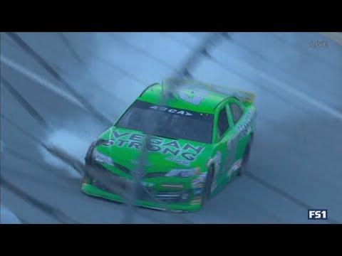 ARCA Racing Series 2018. Talladega Superspeedway. Leilani Munter Crash