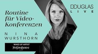 Beauty-Rockstar-Routine für die nächste Video-Konferenz mit Nina von YSL