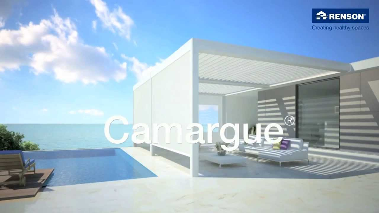 pergola renson camargue installation pays basque biarritz bayonne anglet youtube. Black Bedroom Furniture Sets. Home Design Ideas