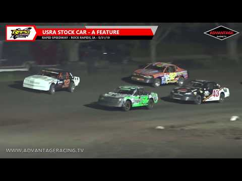 Stock Car Feature - Rapid Speedway - 5/31/19
