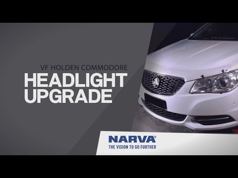 How to Install Headlight Globes on a Holden VF Commodore