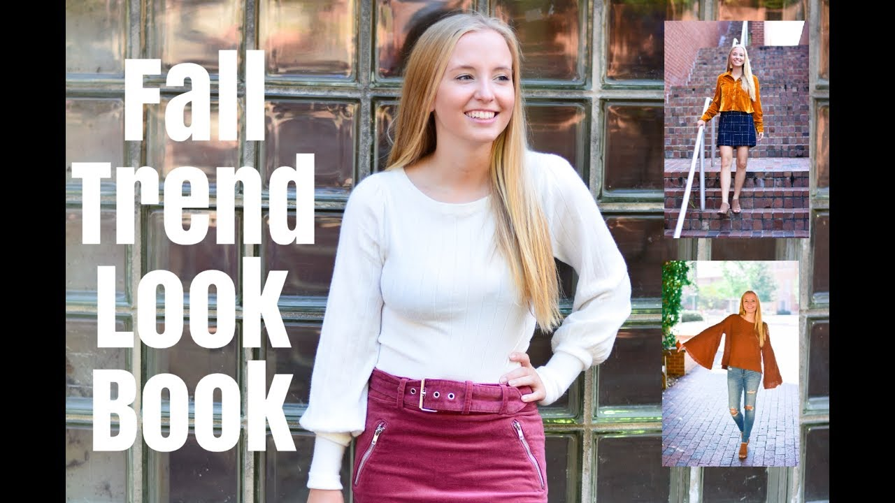e4bb6ec53dc9 FALL TREND LOOK BOOK//HOW TO STYLE OVER THE KNEE BOOTS - YouTube