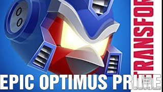 EPIC OPTIMUS PRIME Angry Birds Transformers