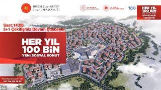 Diyarbakır Yenişehir 3+1 Toki Canlı Yayın
