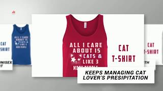 TANK CAT SHIRT FOR GUYS  & WOMEN CAT SHIRT