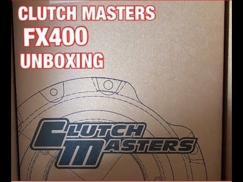 UNBOXING CLUTCH MASTERS FX400 CLUTCH KIT | THEPOWERHOUSEGARAGE |