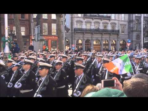 Military parade - 1916 Easter Rising Centenary ( Ireland )