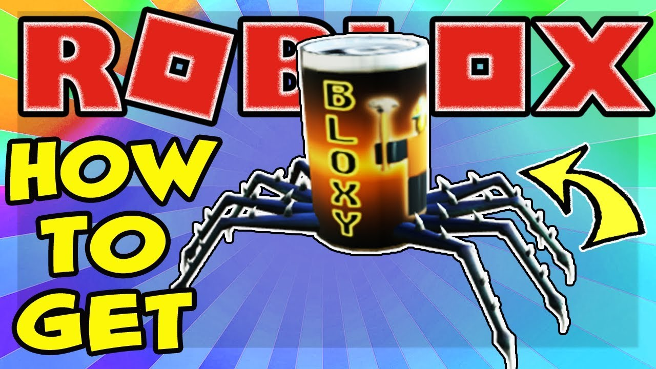 PROMO CODE HOW TO GET THE SPIDER COLA SHOULDER PET IN ROBLOX FOR