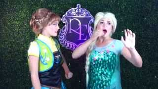 Elsa and Anna Sing Making Today a Perfect Day - Frozen Fever (Cover)