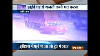 Major road accident in Ludhiana, incident caught on camera For More...