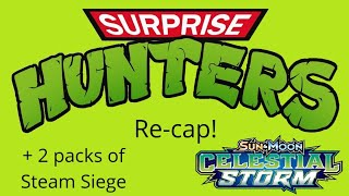 Pokemon TCG Re-cap of The Celestial Storm Booster Box + 2 Packs of Steam Siege!