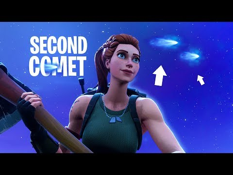 THERE'S A SECOND COMET in Fortnite: Battle Royale!!
