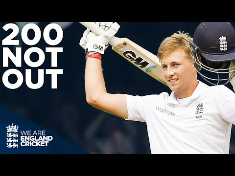 Joe Root's Outstanding 200 Not Out At Lord's | England V Sri Lanka 2014 - Full Highlights