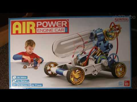 Air Powered Racer Kit Unboxing/Build OWI-631