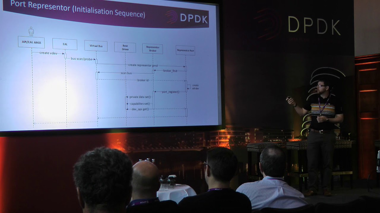 A framework for representation, configuration, and management of virtual  function ports in DPDK