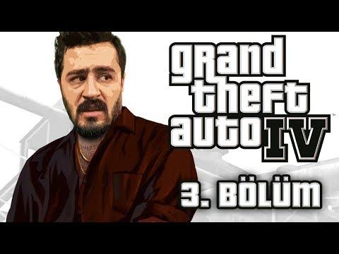 MEKAN BASKINI ! | GRAND THEFT AUTO 4 [GTA4] TÜRKÇE BÖLÜM 3