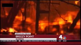 Aftermath of Hurricane Sandy coverage - October 30, 2012 (4am) - WNBC NY (Today in NY)