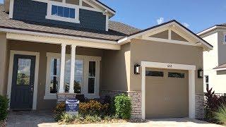 США. ОБЗОР ДОМА от $420 тыс. Модель дома с мебелью в Винтер Гарден, Флорида