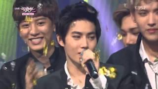 130816 exo winner musicbank ending