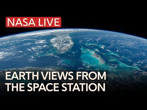NASA Live: Earth Views From Space Station - Earth From Space LIVE Chat & ISS Tracker