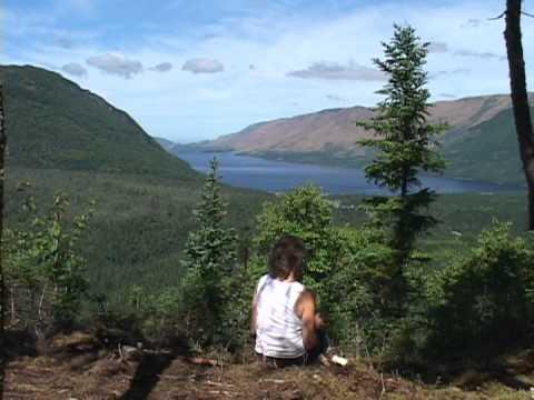 Overfalls Trail In Gros Morne National Park, Newfoundland, Canada
