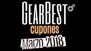 Cupones descuento Gearbest - Marzo 2018