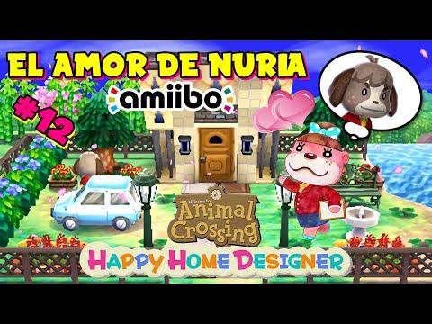 Animal Crossing Happy Home Designer El Amor De Nuria Amiibo Candres Youtube