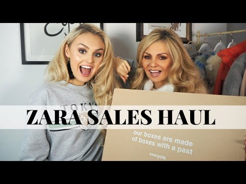 ZARA HAUL + MUM // £10 ITEMS // Sales Haul // TRY -ON //