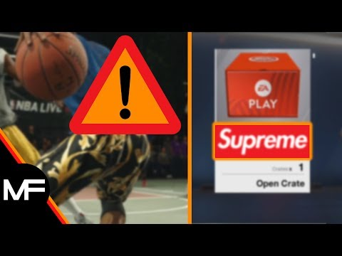 NBA LIVE 18 | HYPEBEAST BRAND SUPREME IS IN GAME! | CULTURAL LOOT CRATES...