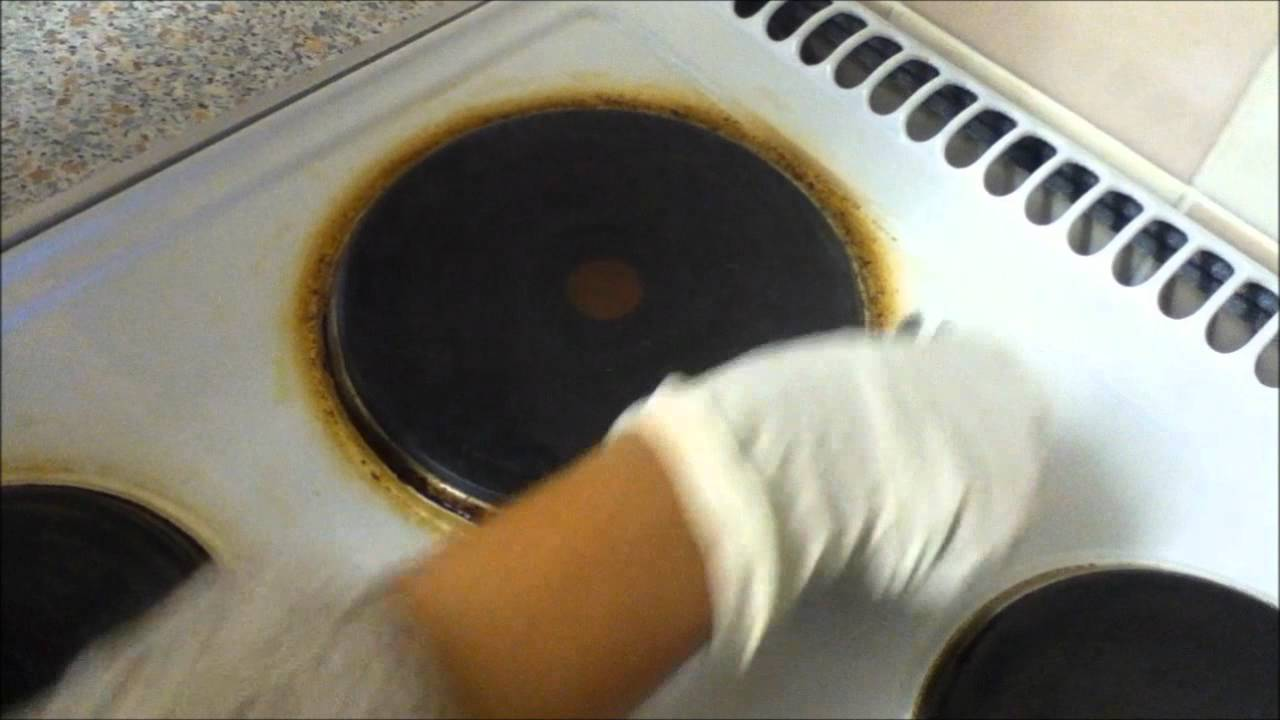 How to clean your electric stove wmv youtube How to clean top of oven