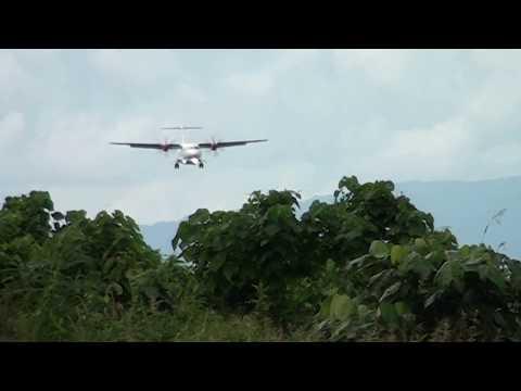 Pendaratan Perdana Pesawat Wings Air di Bandar Udara Raja Ampat Waisai 1/24/17