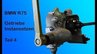 BMW R 75 Getriebe Instandsetzen Teil 4 / Getriebe Startvorrichtung