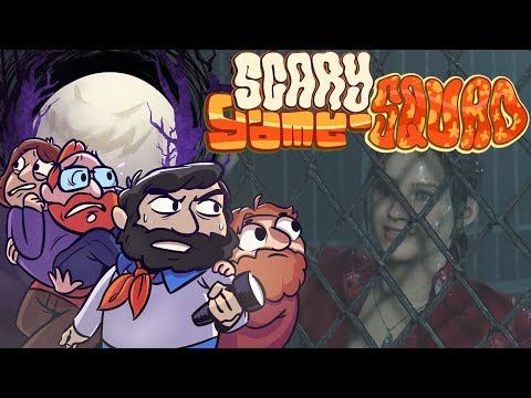 Claire's Story | Resident Evil 2 Remake | Scary Game Squad Part 1