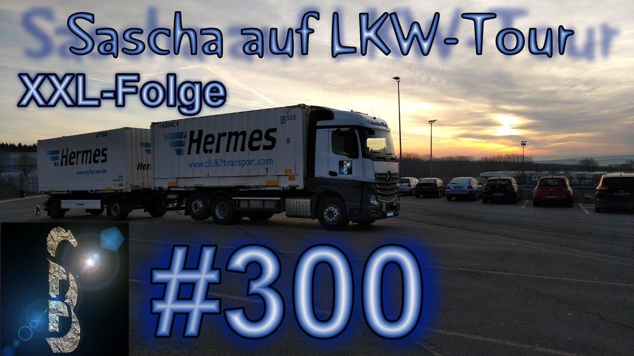 Sascha auf LKW-Tour #300 (Vom klemmenden Gurt und verlorenen Teil) XXL-Folge