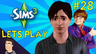 Sims 3: Ep.28 - Epic Party, Call Me Cupid And Secret Agent Man