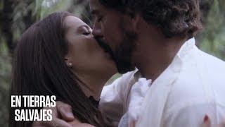 En Tierras Salvajes    Isabel y Daniel se dejaron llevar por la pasión