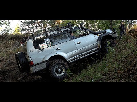 Prado под Off-Road! Toyota Land Cruiser.