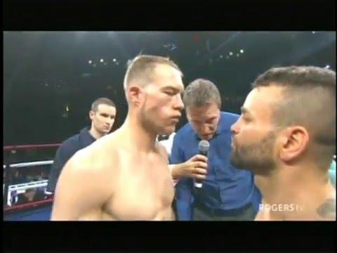 Brandon Cook v Davide Doria  FULL FIGHT