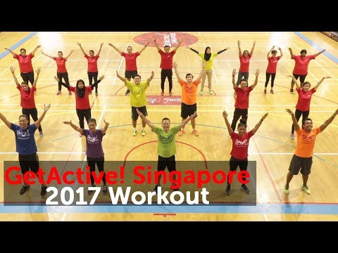 Because It's Singapore! | National Day Parade 2017 theme song | GetActive! Singapore 2017 Workout